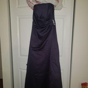 Violet elegant dress